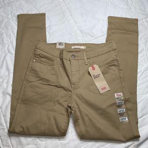 NWT Men's Levi Shaping Skinny Jeans
